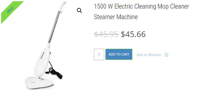 1500W-Electric-Cleaning Mop-Cleaner-Steamer-Machine