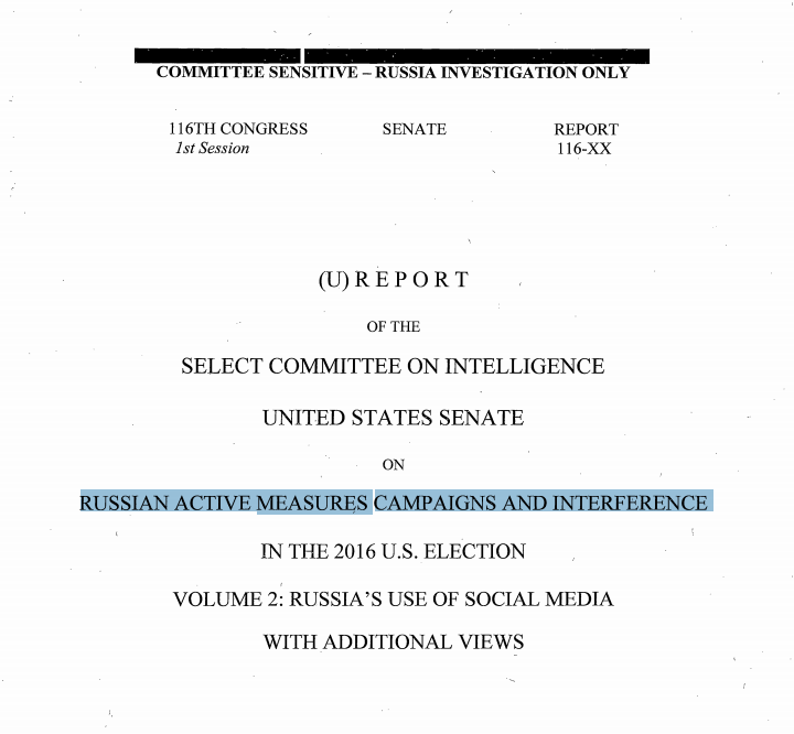 Senate Intelligence Committee Releases Findings on Russian Interference NewsWire.news